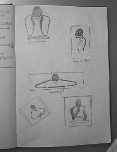 figürlich ? Seite aus dem Skizzenbuch von Thomas Brill