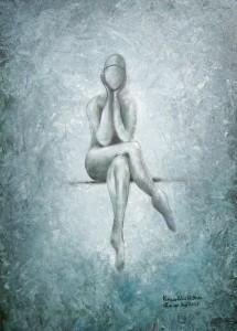 Kunst Gemälde: Komm zur Ruh ich hör Dir zu