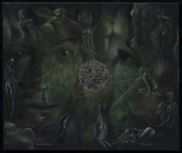 Giclee - Kunst - Druck: Gedankenknäuel