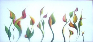 art by Thomas Brill: new tulips