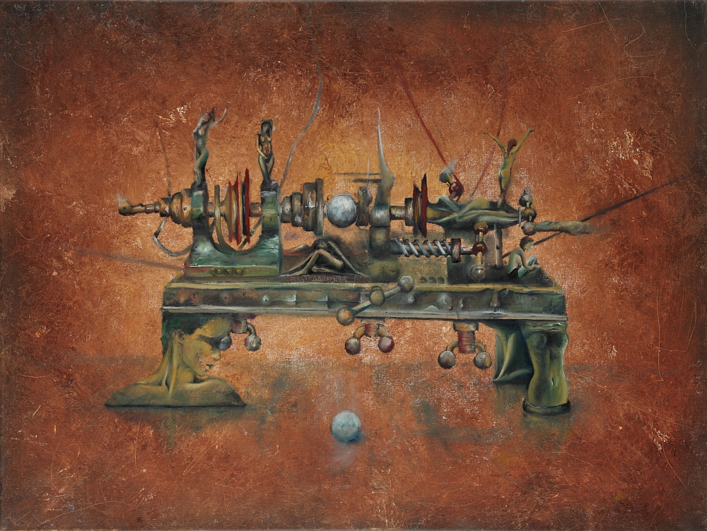 Giclee-Kunst-Druck: Taggestalter