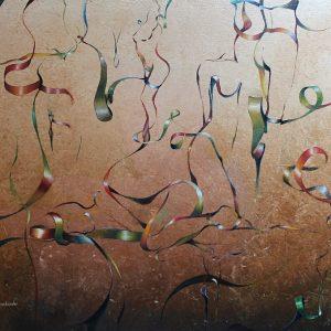Giclee - Kunst - Druck: Gedankenbänder