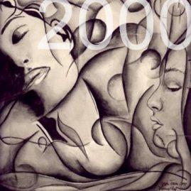 Kunst Gemälde 2000