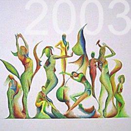 Kunst Gemälde 2003