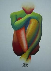 Kunst - Gemälde - meine Farben meine Formen meine Art